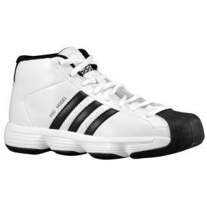d5ac3569e4d3 ... cheapest adidas pro model boys grade school basketball shoes white  black c269f 6f703