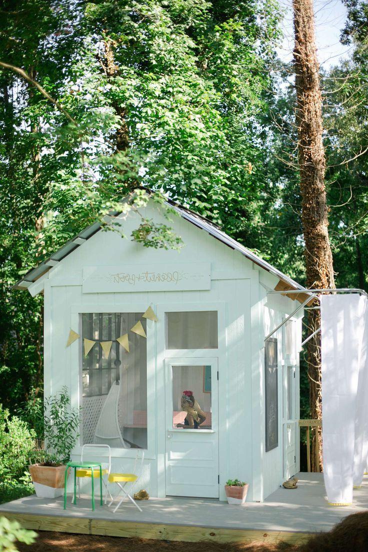 Spielhaus Für Den Garten Selber Bauen: DIY Anleitung | Basteln | Pinterest  | Spielhaus, Spielhaus Garten Und Spielhaus Selber Bauen