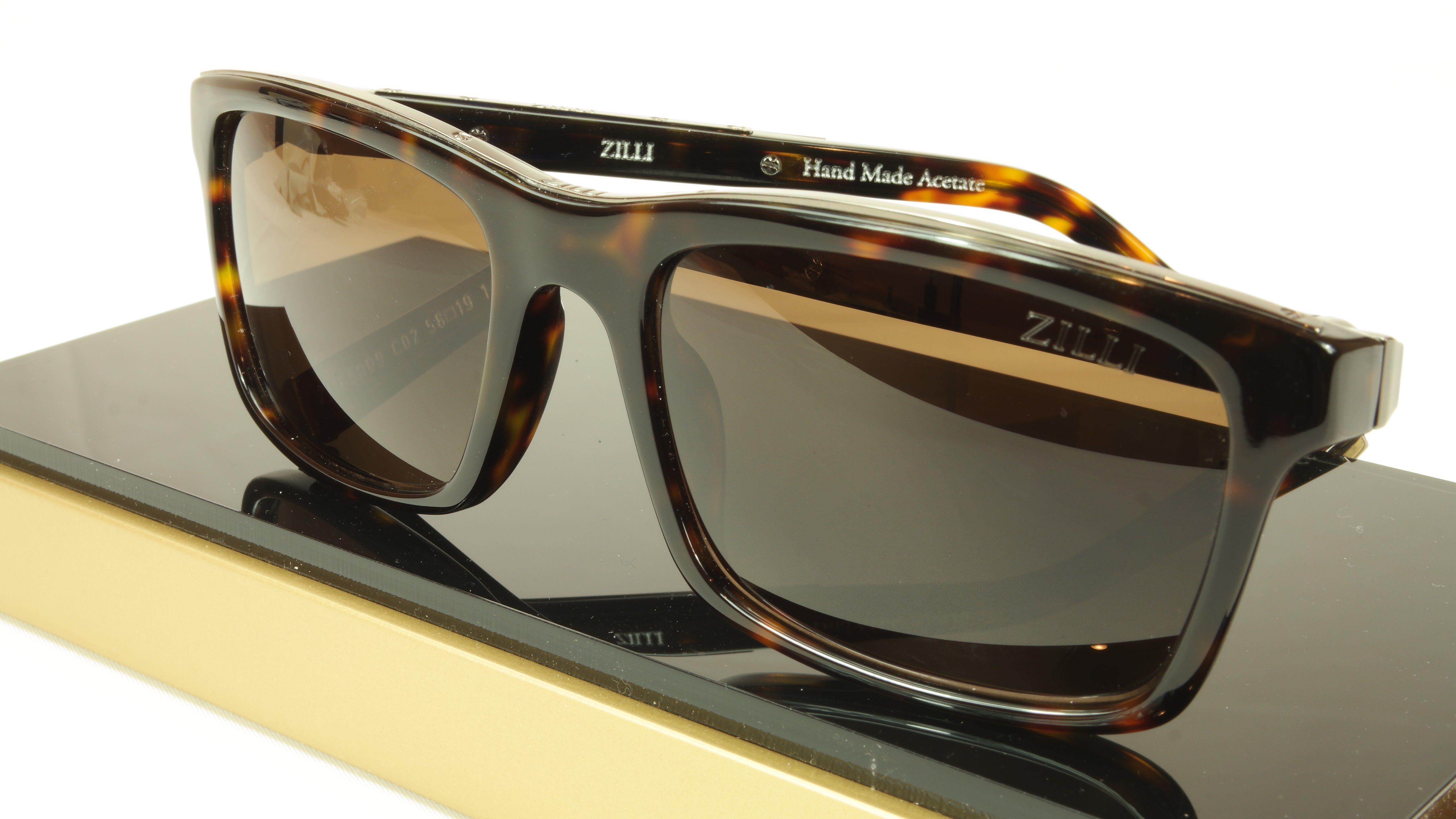 37f0ab5737 ZILLI Sunglasses Polarized Hand Made Acetate Titanium France ZI 65009 C02  101