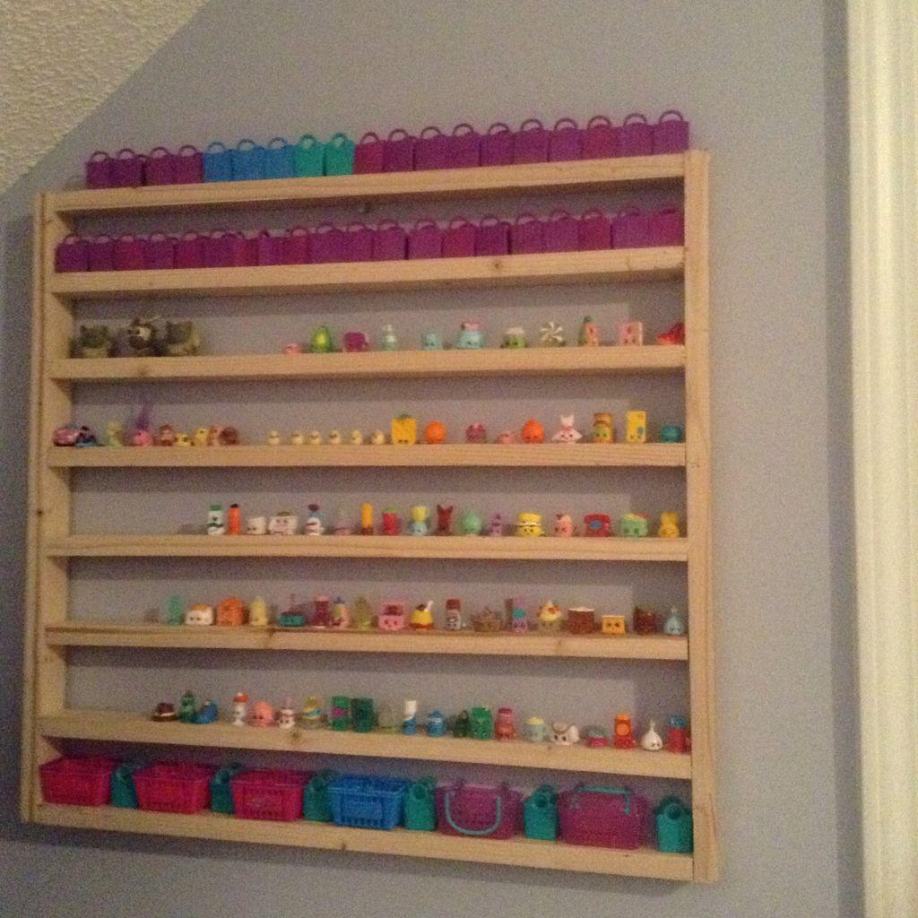 Cool Shopkins Shelf Idea