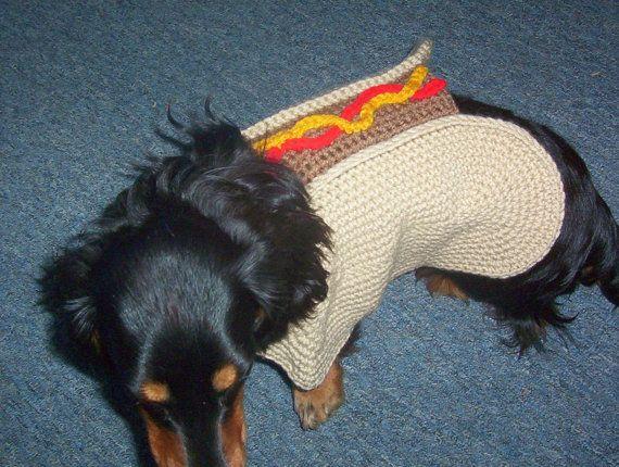 Hot Dog Sweater Coat Dachshund WANT! | OH, HENRY! | Pinterest