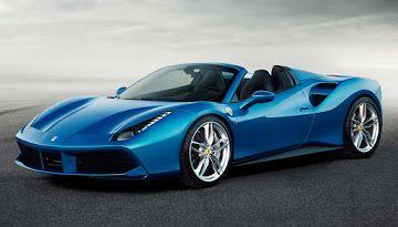 Visual Comparison: New Ferrari 488 Spider Vs 458 Spider | Carscoops