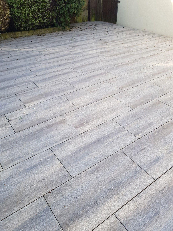 Oak Wood Effect Virtue Vitrified Porcelain Paving Slabs 900x450