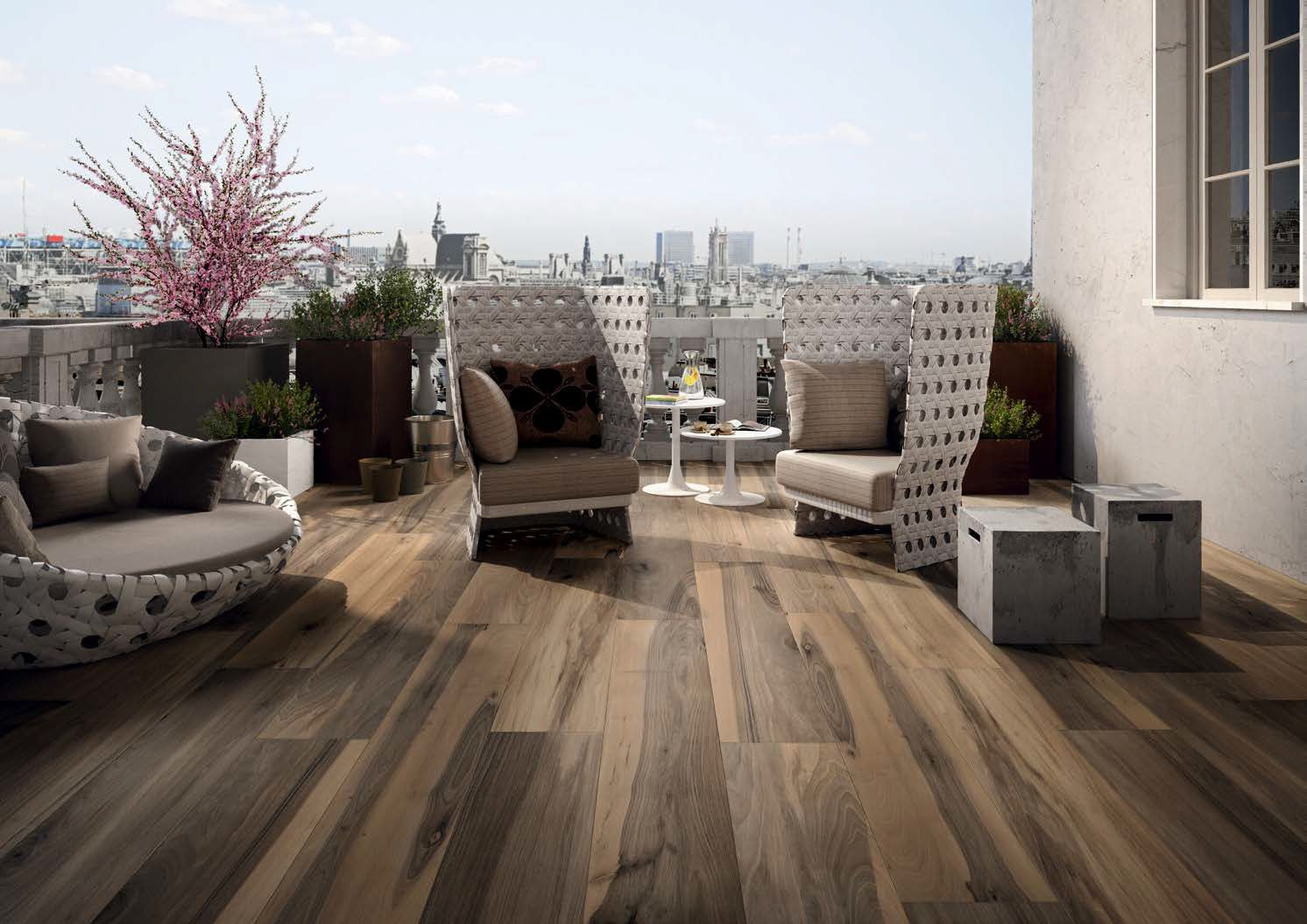 Belmont By Fine In Noce Is Available In 8x48 Porcelain Planks