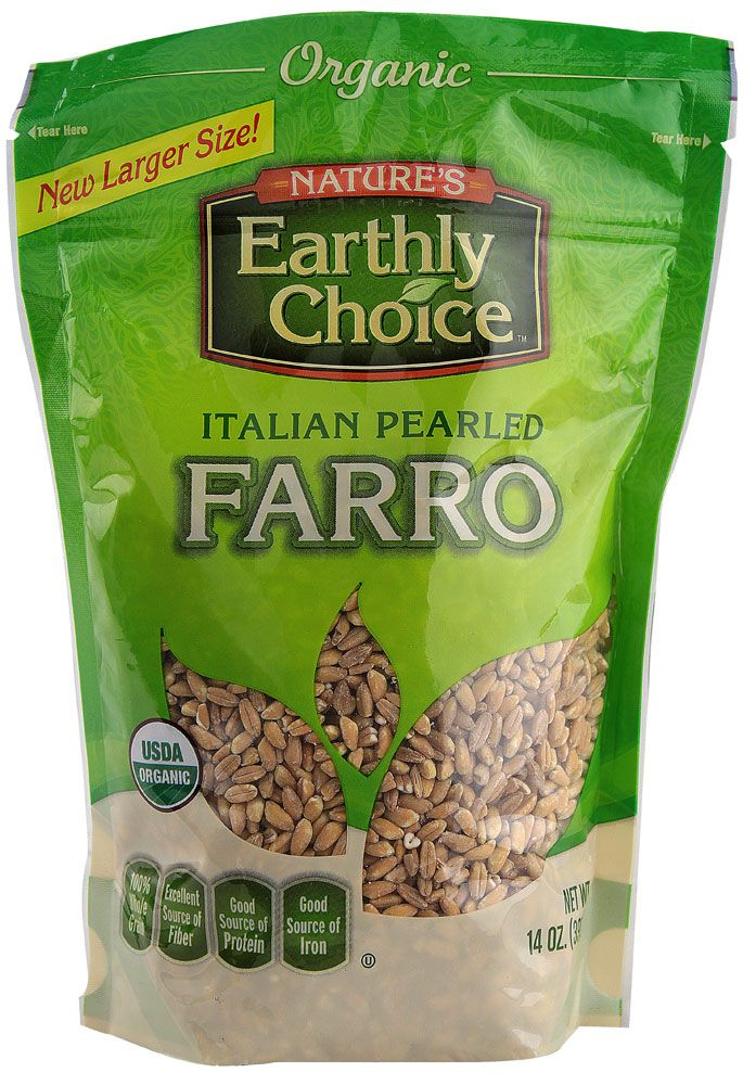 Image result for nature's earthly choice farro