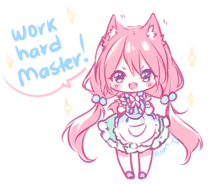 Hyanna Natsu Artist Check Her Out On Youtube Channel Hyanna Natsu Cute Anime Chibi Kawaii Drawings Cute Anime Pics