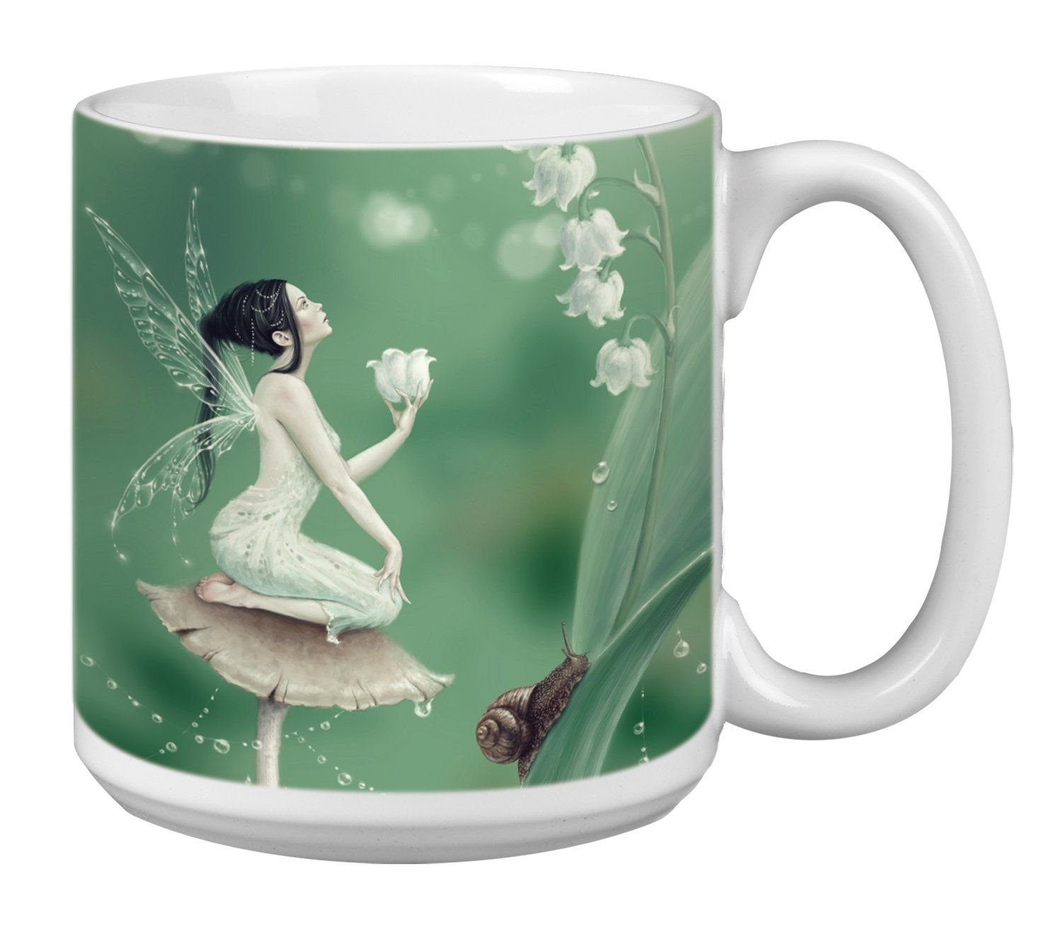 TreeFree Greetings Extra Large 20Ounce Ceramic Coffee