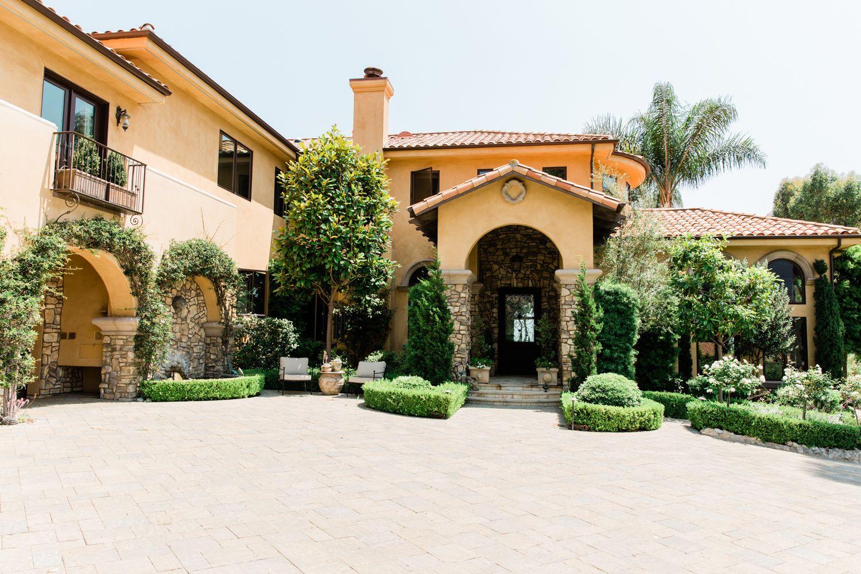 Villa Sancti Malibu, A Southern California Tuscan Estate