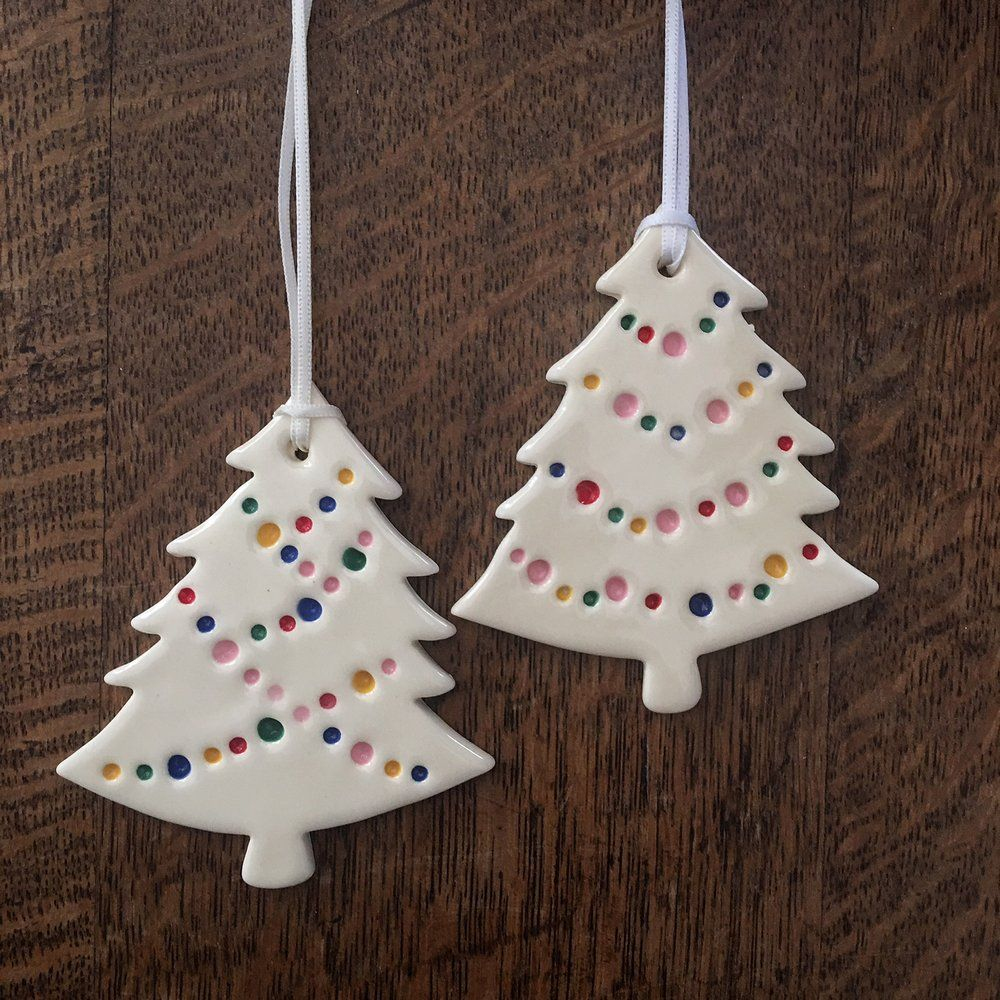 Party Light Christmas Tree Ornament Clay Christmas Decorations Christmas Ornaments Diy Christmas Ornaments