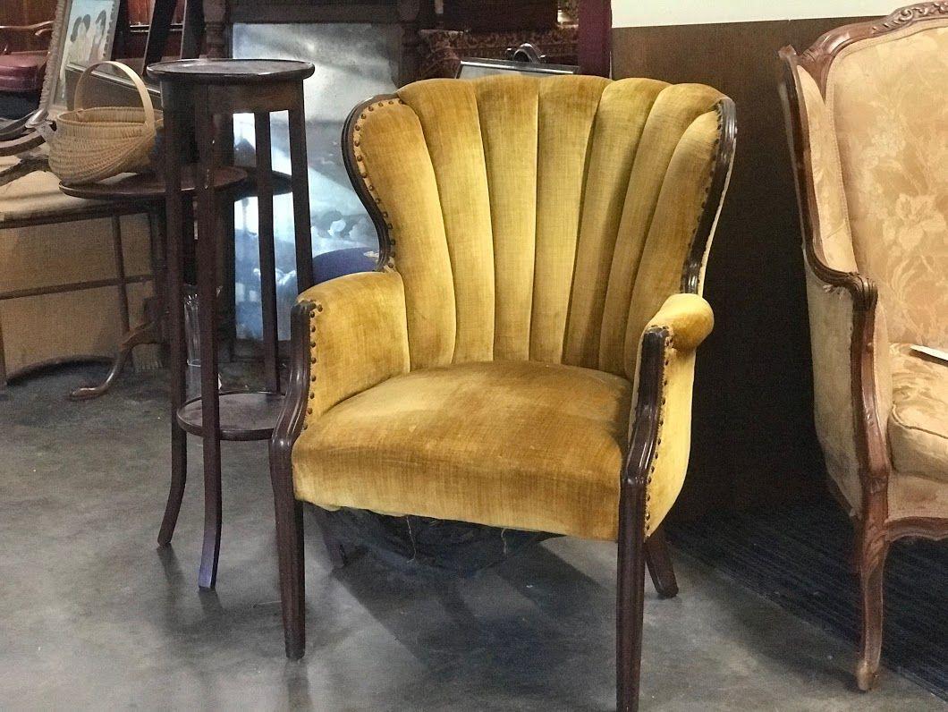 Pretty Antique Chair On Sale Dealer #4824 Was $300 Sale Price $200 Lucas  Street Antiques - Pretty Antique Chair On Sale Dealer #4824 Was $300 Sale Price $200