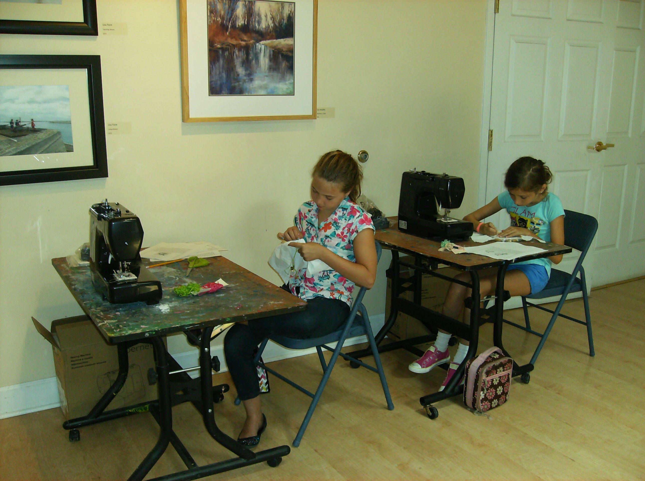 Sewing Camp #sewing #kids #ccpvb #sewingmachines