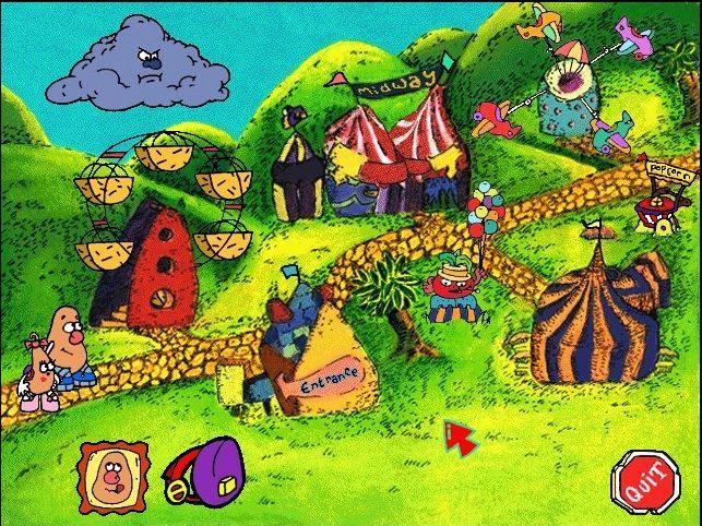 Mr Potato Head Saves Veggie Valley Computer Game I Completely