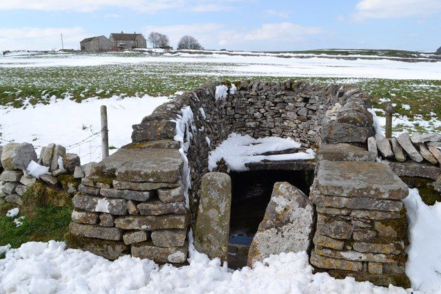 Ancient well north of Foolow