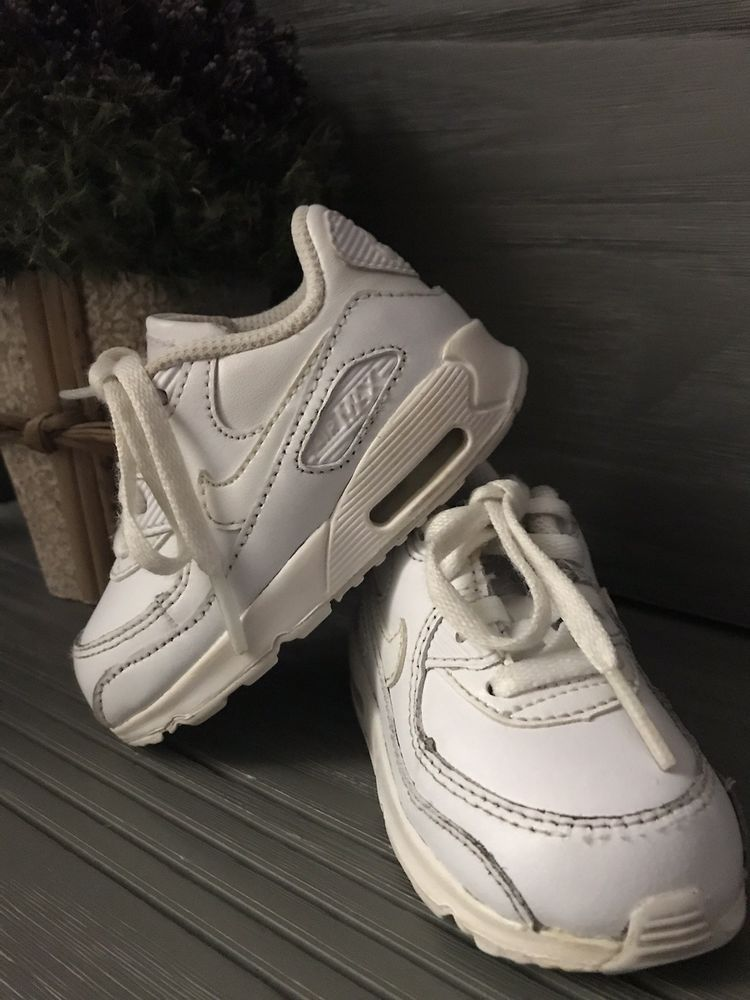 cheap for discount c5814 dc625 Nike Air Max 90 LTR Toddler Athletic Sneaker Shoes White Leather Size 5C   fashion  clothing  shoes  accessories  babytoddlerclothing  babyshoes  (ebay link)
