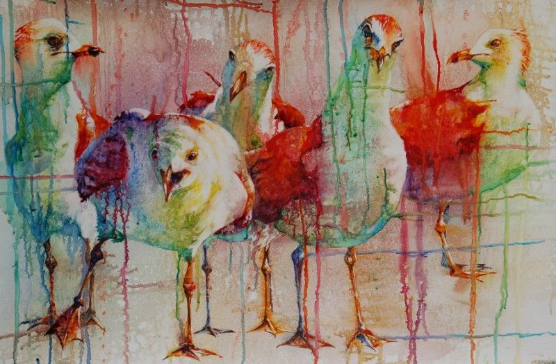 2010 American Watercolor Society Show Modern Watercolor