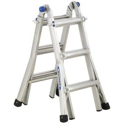 Wermt13 Werner Aluminum Telescoping Ladder With Quot Jquot Lock Werner Http Www Amazon Com Dp B00443iy0w Ref Cm Sw R Pi Dp Multi Ladder Ladder Best Ladder