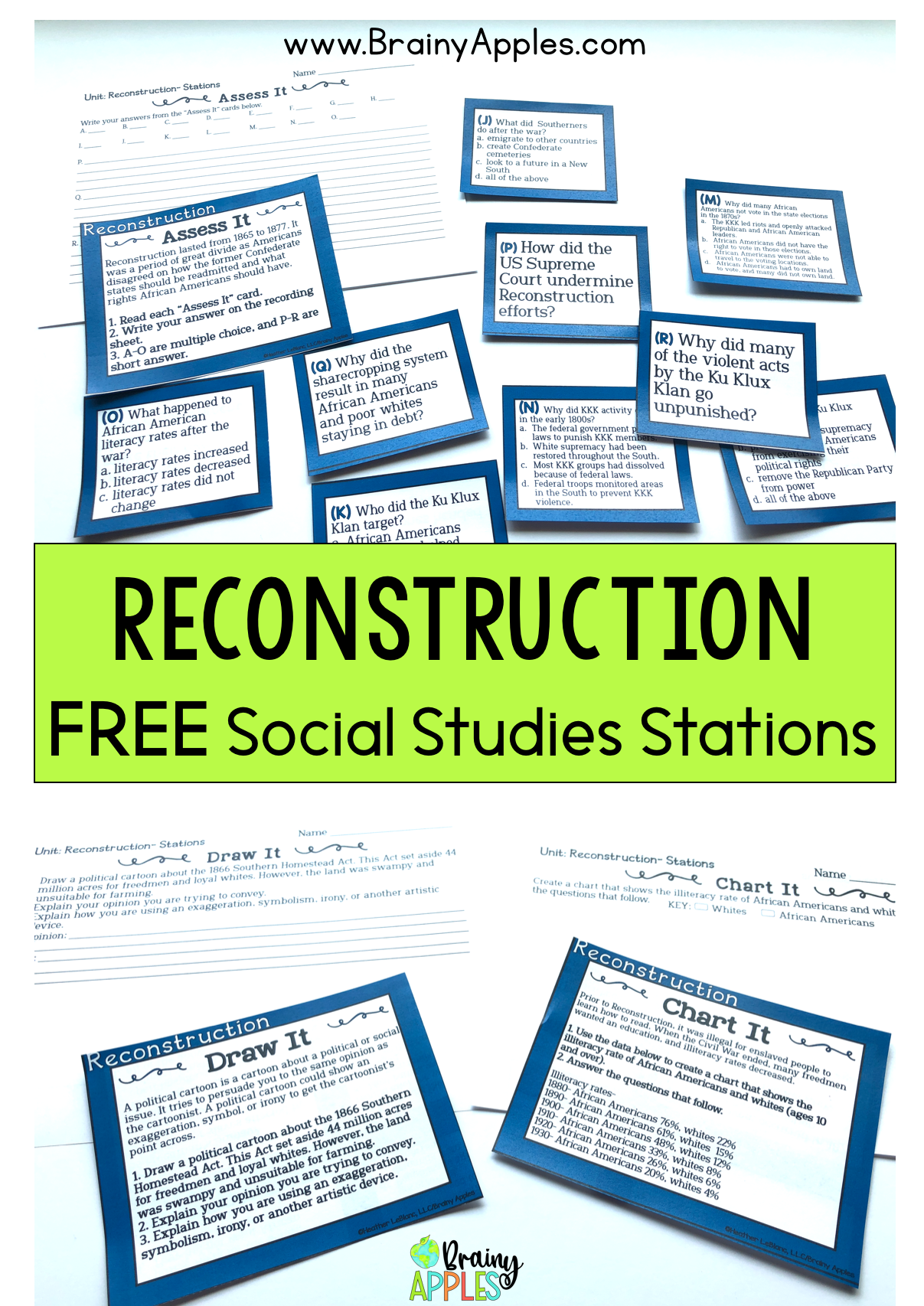 Learn How To Use Stations In The Social Studies Classroom To