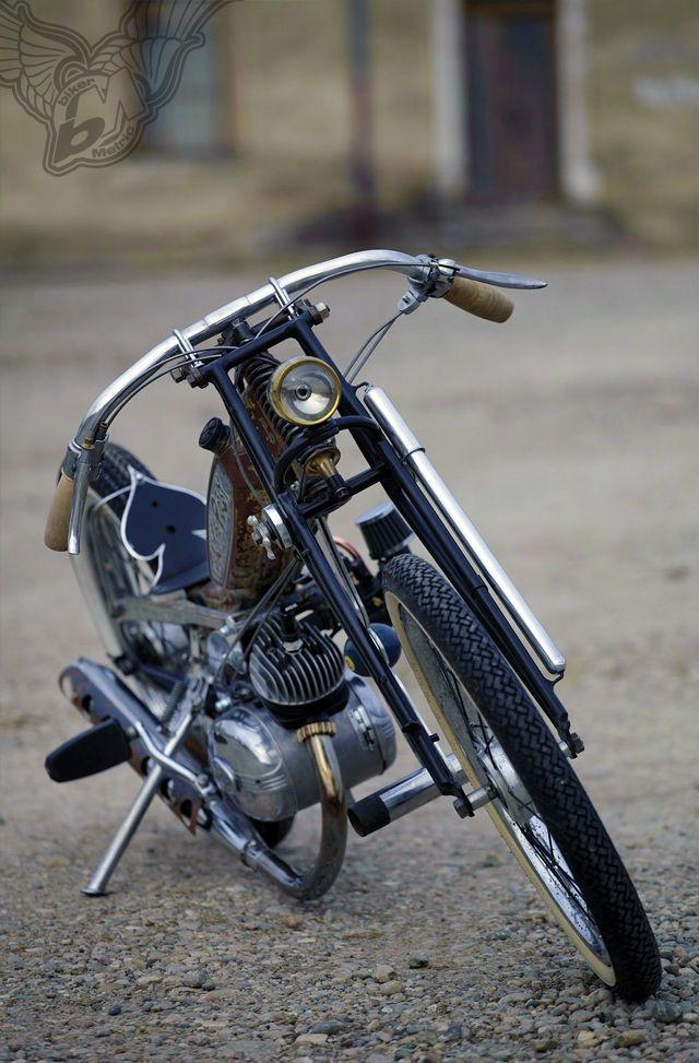 swap meet **** rat bike of the day   frenchmonkeys moped ...  swap meet **** ...