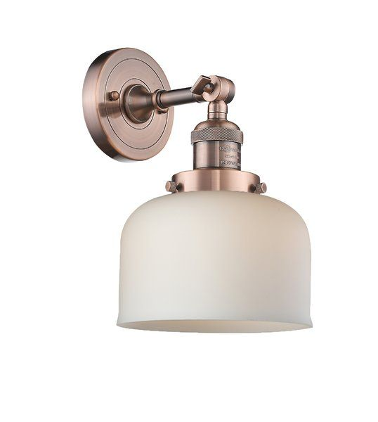 Photo of Carley Heavy Duty 1-Light Armed Sconce