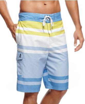 e3fc2cefd8 Izod Swimwear, Insite Boardshorts - Mens Swim - Macy's Alexandra Johnson  via Esther Bilyeu onto Boy like this? MARRY ME.