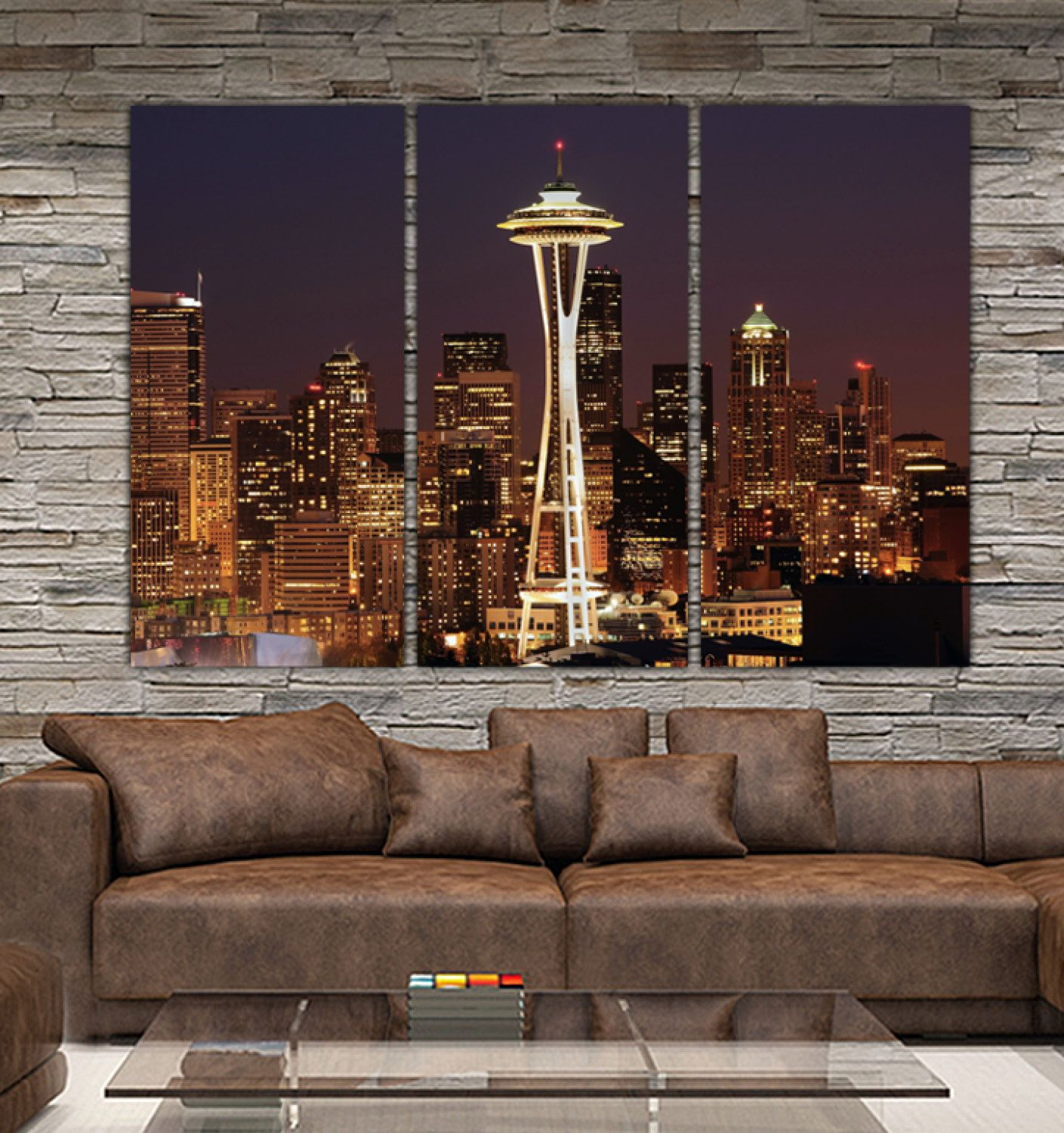 Image result for seattle wall art Photo wall art, Canvas