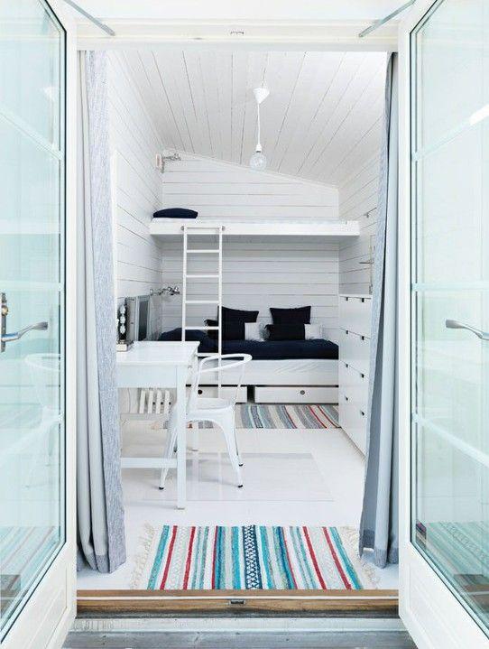 Kleines Kinderzimmer mit Hoch- oder Etagenbett einrichten | Kleines ...
