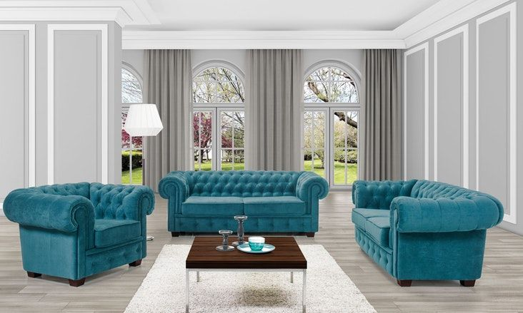 Classic And Elegant Three Piece Sofa Set Classicsofa Sofaset