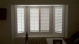 Bay Window With Plantation Shutters