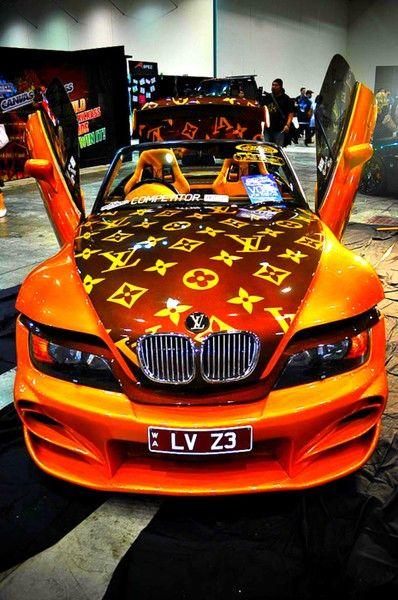743d5466191d A Louis Vuitton Car Wrap for the fashion conscious!