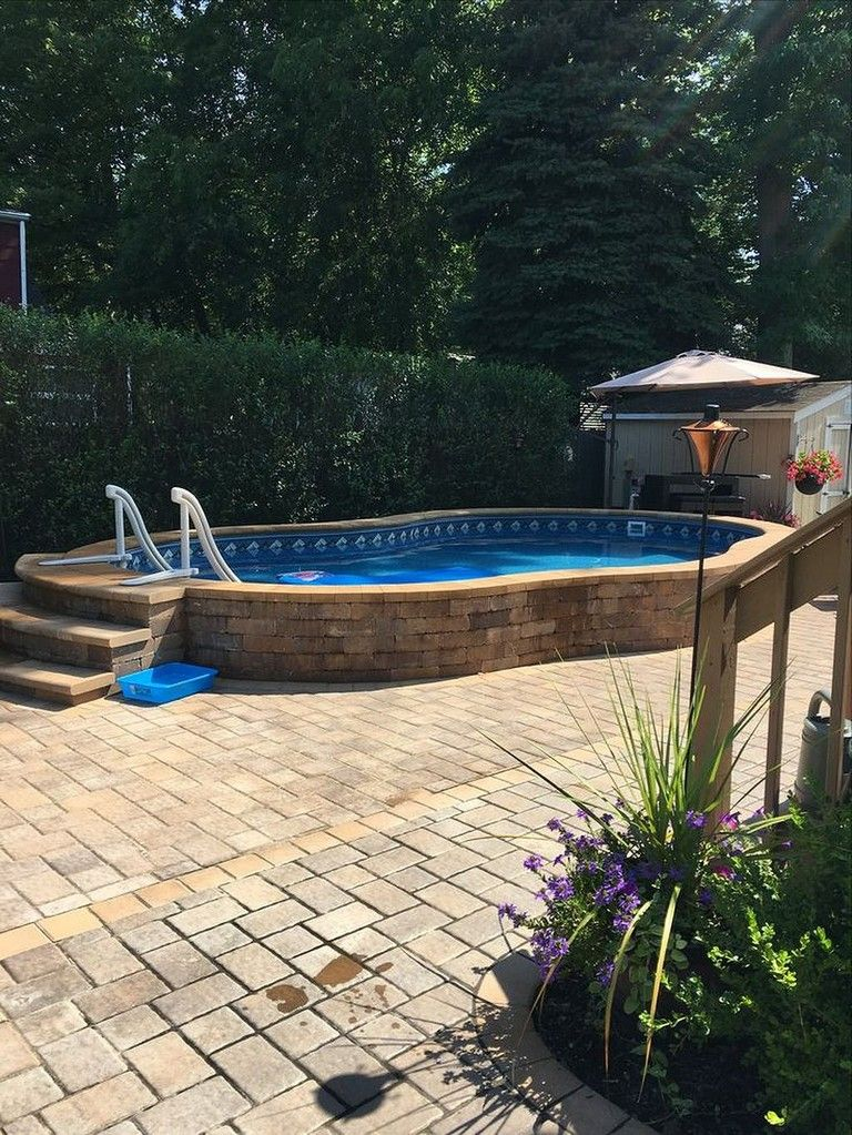 Small Backyard Patio Ideas With Pool