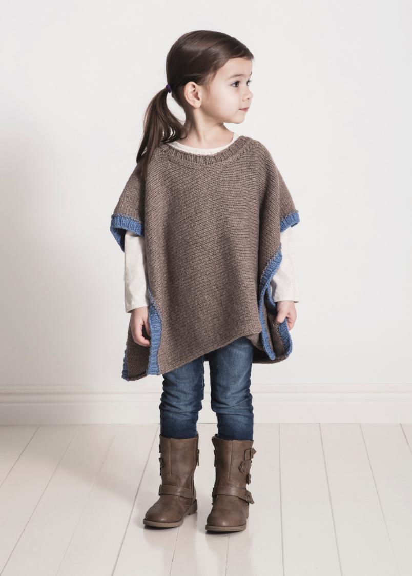 Spud and Chloe Puddle Jumper Poncho Knitting Pattern PDF | Knitting ...
