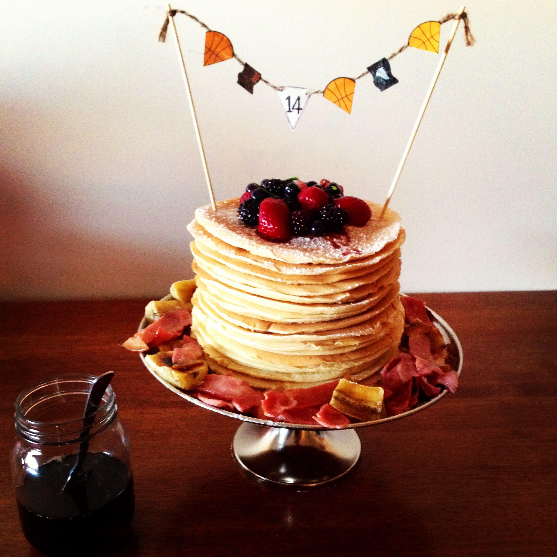 Party Cakes, Cake, Pancake Stack