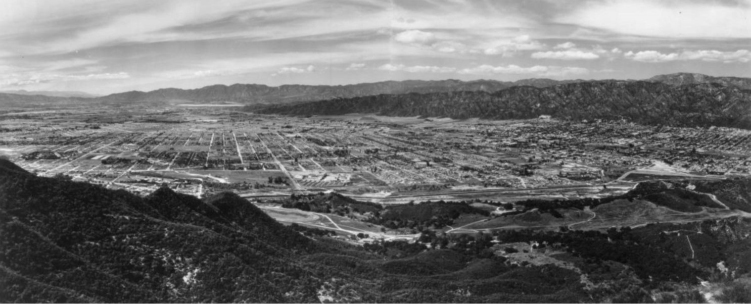 East San Fernando Valley, 1930s | Vintage Maps | San