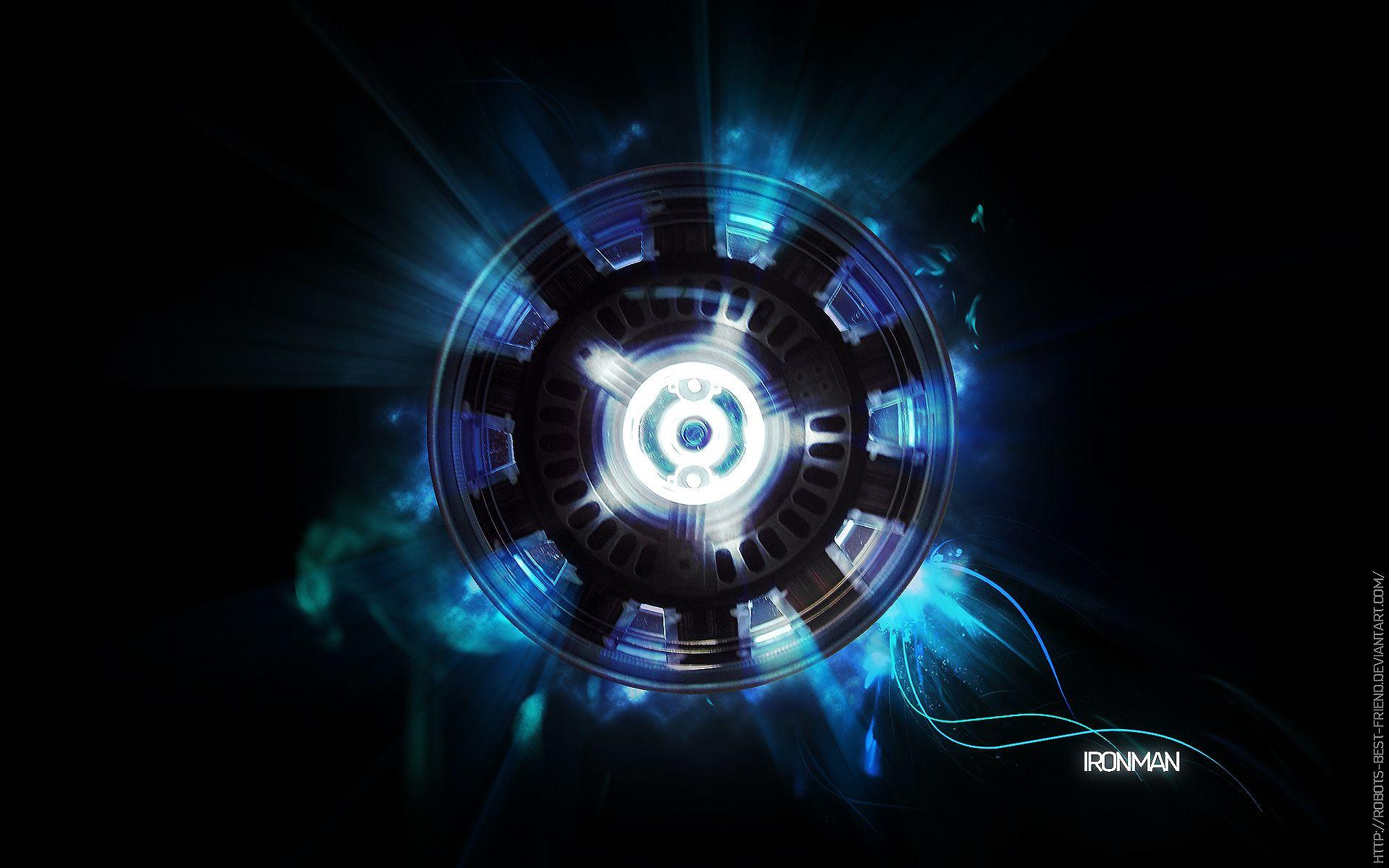 Iron Man Wallpaper 34447: Iron Man Energy Chest HD Wallpaper
