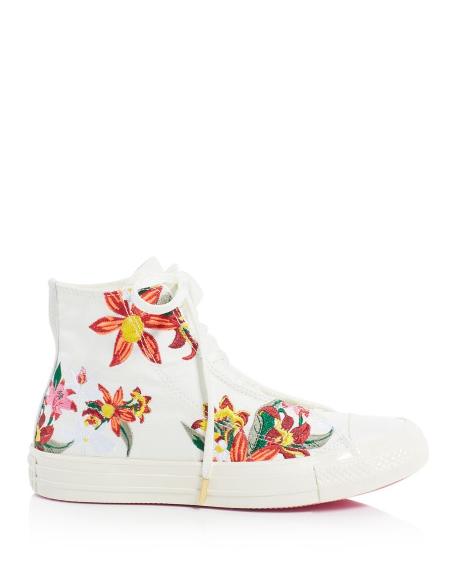 Converse PatBo Collection Chuck Taylor All Star Floral Embroidered ...