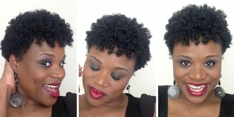 Short Natural Hair Using Perm Rods Hairstyles Ideas Natural Hair