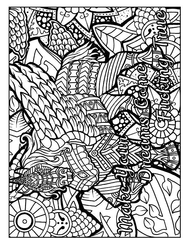 Details Pack Color Pages Pinterest Coloring Pages Swear Word