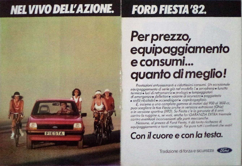 Publicidad Ford Fiesta Italiana Ford Fiesta