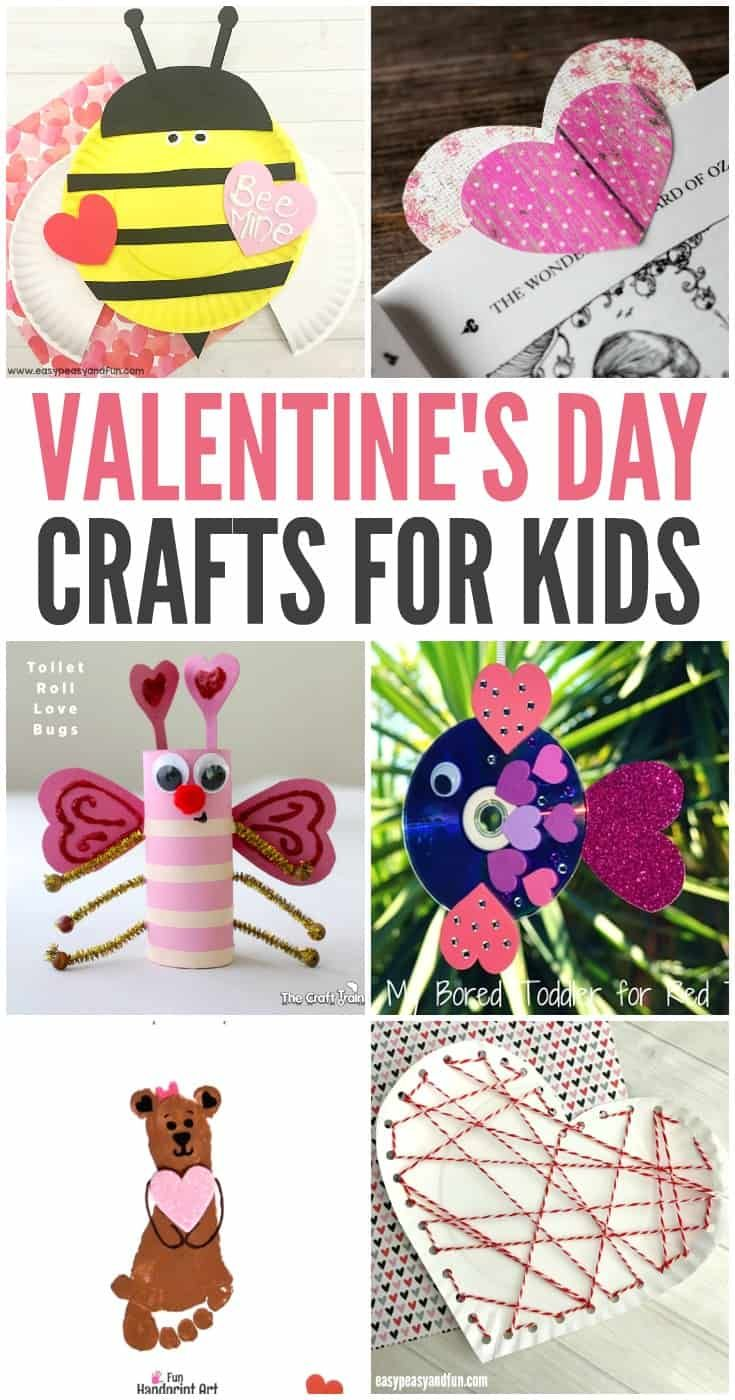 20 Valentine Crafts For Preschoolers Easy And Fun Valentines