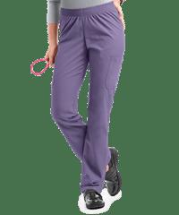 a6f22051243 Butter-Soft Scrubs by UA Women's Pull On Cargo Pants Twilight purple