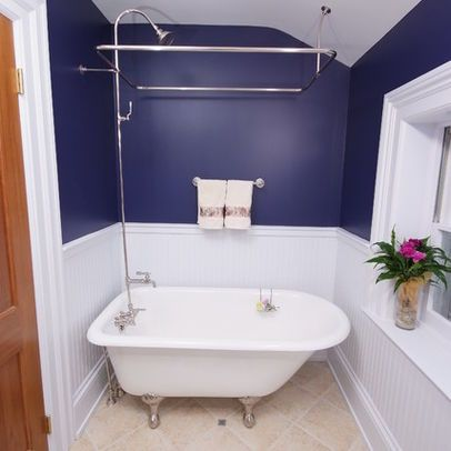 shower combo clawfoot design ideas, pictures, remodel, and