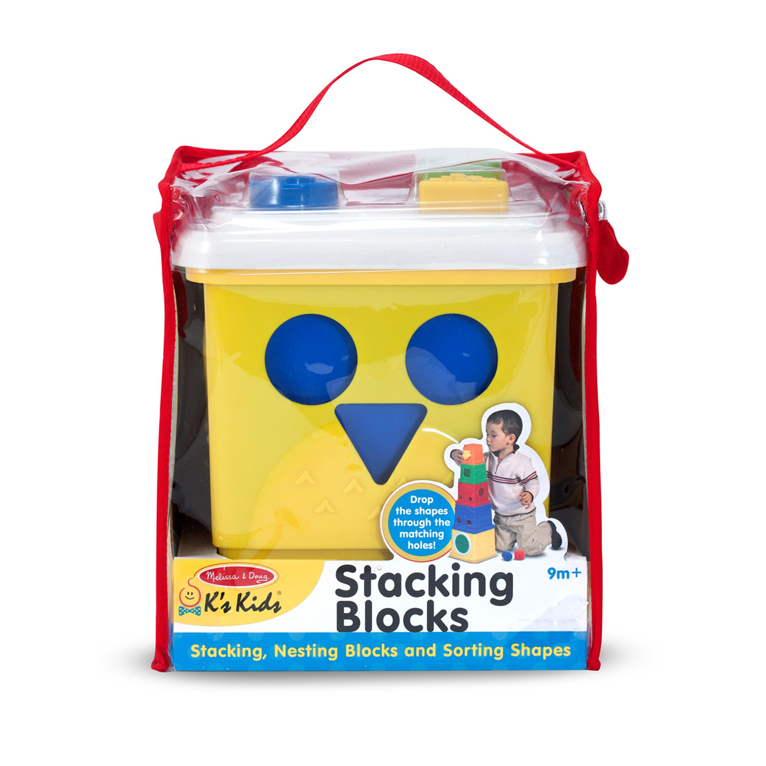 Melissa & Doug Stacking Blocks by Melissa & Doug