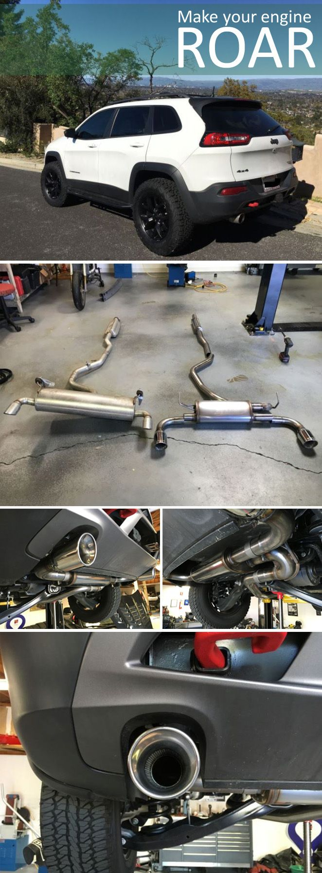 Magnaflow Cat Back Exhaust System Stainless Steel Gas