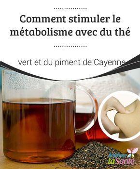 Comment stimuler le #métabolisme avec du thé vert et du