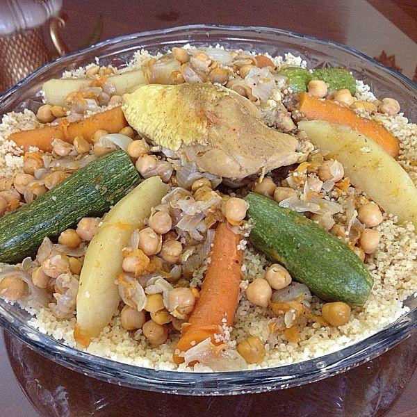 من المطبخ الجزائري اخترنا لكم الكسكس الجزائري ورينا صور تطبيقك Cooking Food Recipes