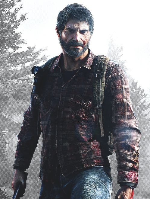 Joel - The Last of Us. Is it weird that I find him extremely attractive? HES FREAKING GORGEOUS. Sexy. I can't :c I find him extremely hard to resist for multiplw reasons. Im obsessed.