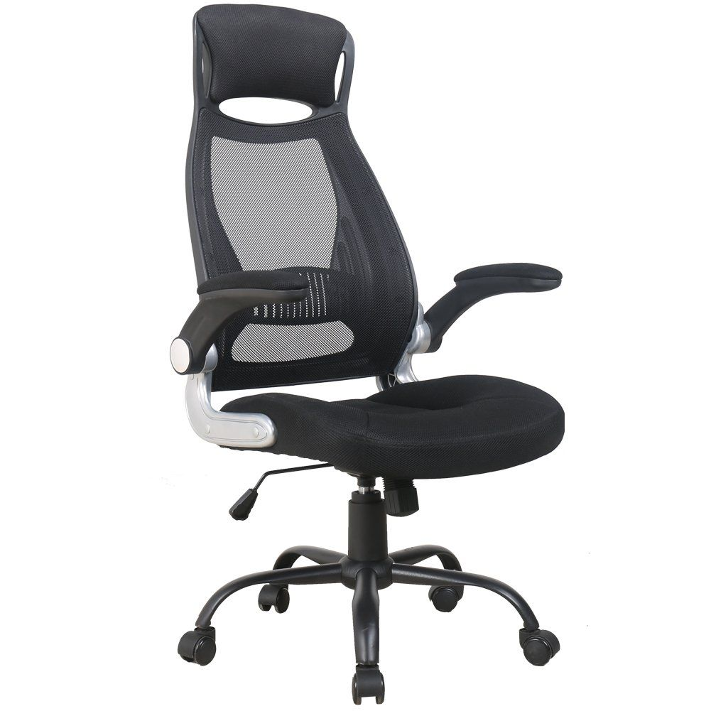 Zenith High Back Mesh Office Chair With Adjustable Armrest Lumbar Support Headrest Swivel Task Desk Chair Ergonomic Office Chair Mesh Chair Cheap Office Chairs