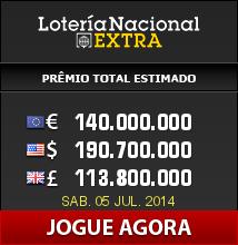 Loteria Nacional Extra - #rifa espanhola #milionária em 3 semanas!