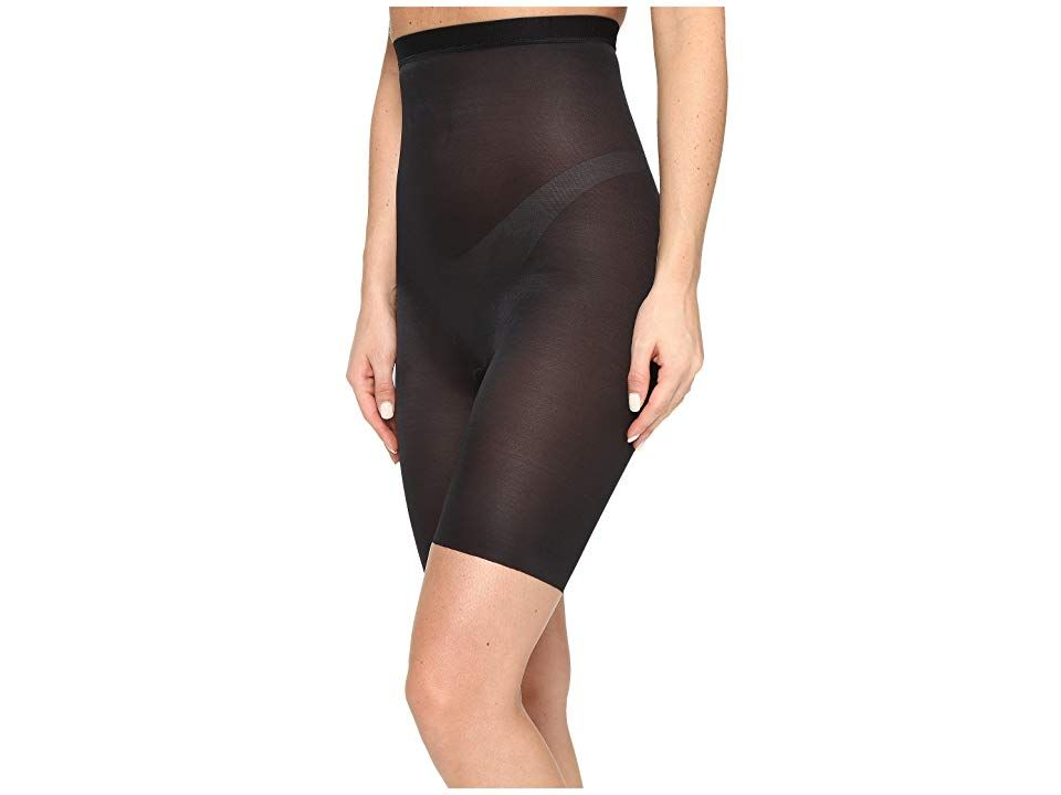 249ca5f04e41d Spanx Skinny Britches(r) High-Waisted Mid-Thigh Short (Very Black ...