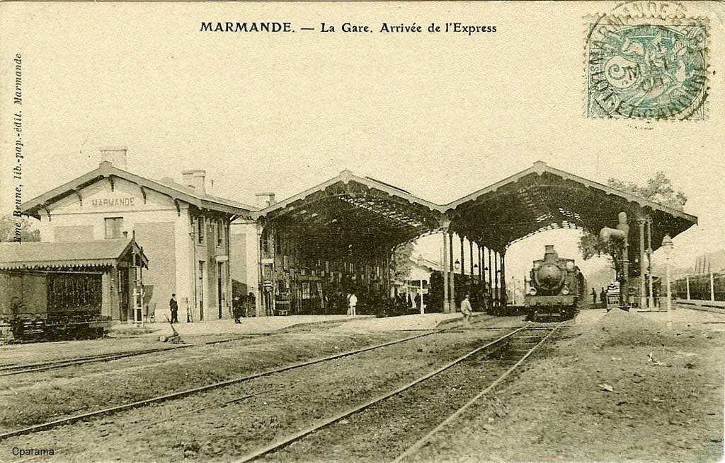 MARMANDE (L. et G.) Montauban, Narbonne, Carte postale